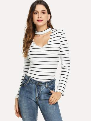 1dfed8d1e4 White Shirt With Scallop Trim - ShopStyle