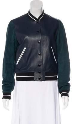 Rag & Bone Leather Varsity Jacket