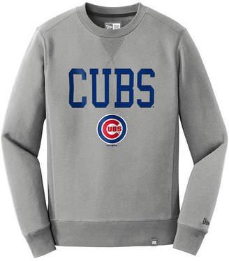 New Era Men Chicago Cubs Premium Crew Sweatshirt