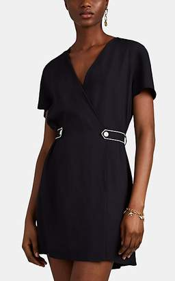 Rag & Bone Women's Tabitha Belted Twill Wrap Dress - Black