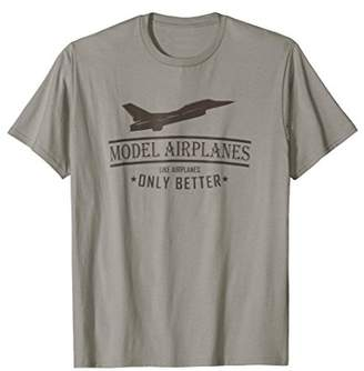 F-16 Viper - Funny Model Airplane T-shirt