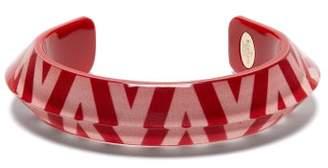 Valentino Logo Print Bracelet - Womens - Red