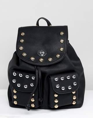 Park Lane Western Studded Backpack