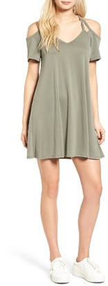 Women's Socialite Sofia Cold Shoulder Dress $45 thestylecure.com
