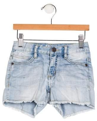Molo Girls' Denim Five Pockets Shorts