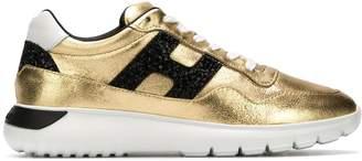 Hogan Interactive metallic sneakers