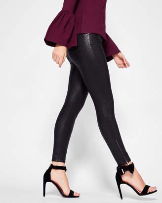 Ted Baker LAGOONA Skinny textured jeans