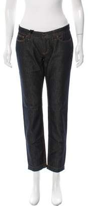 Dolce & Gabbana Low-Rise Straight-Leg Jeans w/ Tags