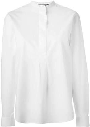 Sofie D'hoore band collar blouse