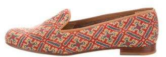 Stubbs & Wootton Patterned Knit Loafers