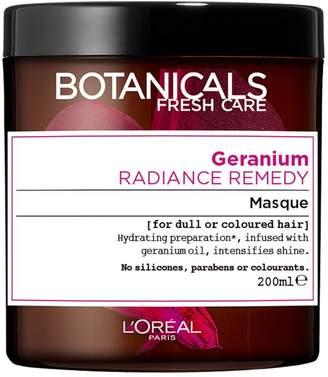 Botanicals L'Oreal Geranium Coloured Hair Enhancing Hair Mask 200ml