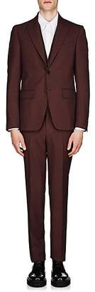 Givenchy Men's Wool Twill Two-Button Suit - Wine