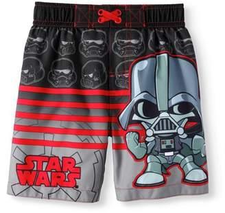 Star Wars Toddler Boys' Swim Trunk Board Shorts