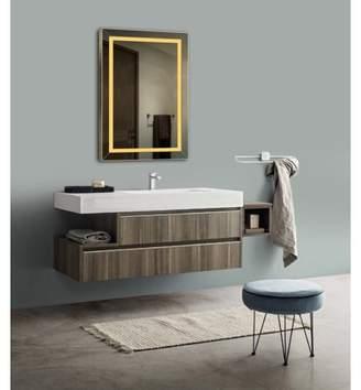 Lighted Impressions Avaion LED Bathroom Wall Mirror Plus 2 Light Settings