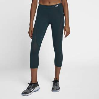 Nike Women's Mid-Rise Training Crops Pro HyperCool