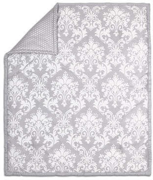 The Peanut Shell Damask Cotton Quilt