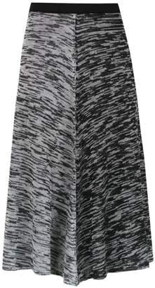Mara Mac midi knit skirt