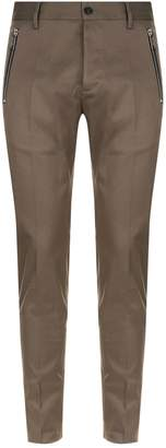 DSQUARED2 Cotton Twill Stretch Trousers