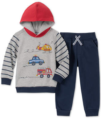 Kids Headquarters Little Boys 2-Pc. Rescue Graphic Fleece Hoodie & Jogger Pants Set