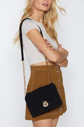 Nasty Gal WANT Weave Missed You Crossbody Bag
