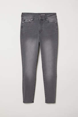 H&M H&M+ Shaping Skinny High Jeans - Gray