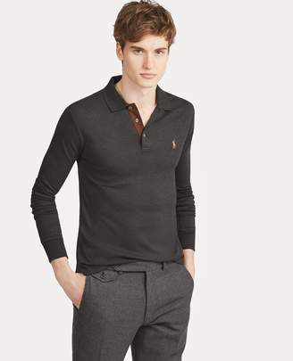 Ralph Lauren Slim Fit Long-Sleeve Polo