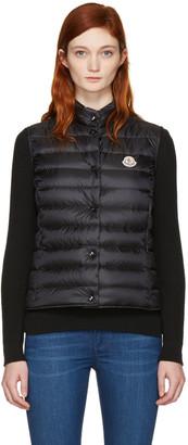 Moncler Black Down Liane Vest $495 thestylecure.com