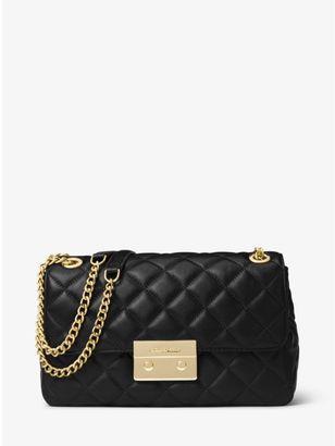 Sloan Large Quilted-Leather Shoulder Bag $328 thestylecure.com