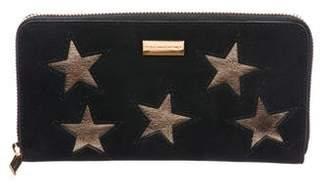 Stella McCartney Vegan Leather Stars Wallet