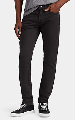 Frame Men's L'Homme Slim Stretch-Cotton Sateen Trousers - Gray