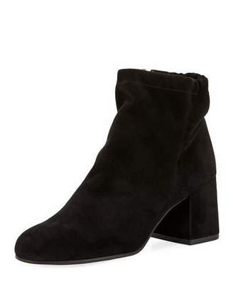 Eileen Fisher Hollis Suede Ankle Booties