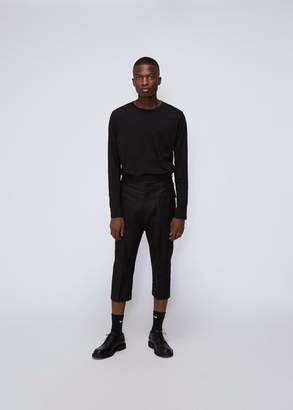 Rick Owens Cropped Cargo Trouser