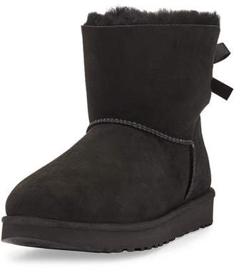 UGG Mini Bailey Bow II Shearling Fur Boot $150 thestylecure.com