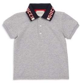 Gucci Baby Boy's Logo Polo Shirt