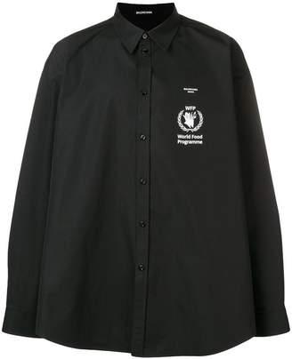 Balenciaga World Food Programme shirt