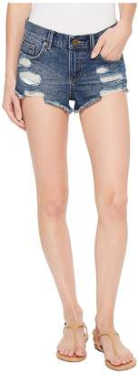 Amuse Society On the Run Denim Shorts Women's Shorts