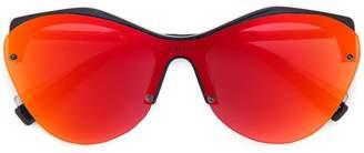 Dion Lee Oil Slick Revo sunglasses