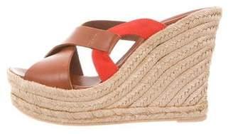 Delman Zoe Wedge Sandals