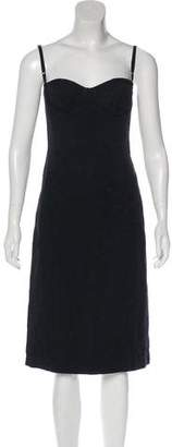 Dolce & Gabbana Strapless Midi Dress