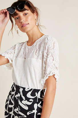 Anthropologie Parvati Lace Top