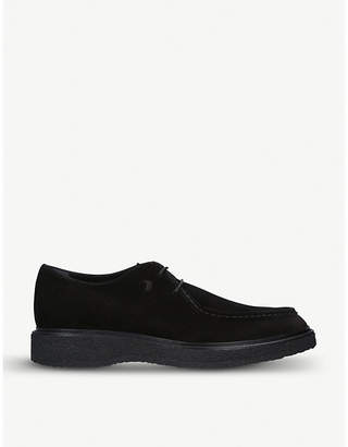 Tod's Tods Lace-up suede shoes