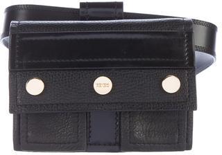 KenzoKenzo Pebbled Leather Waist Bag