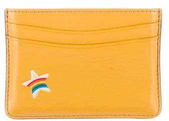 Anya Hindmarch Anya Hindmarch Leather Star Card Holder