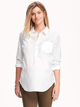Old Navy Maternity Classic Popover Shirt