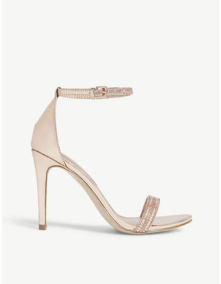 Aldo Ciasa embellished high ankle strap sandals