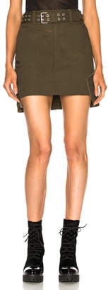 Helmut Lang (ヘルムート ラング) - Helmut Lang Military Patch Skirt
