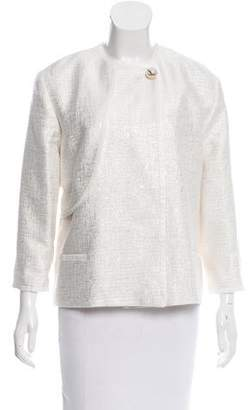 Genny Metallic Tweed Jacket w/ Tags