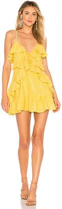 NBD Mugsy Sequin Mini Dress