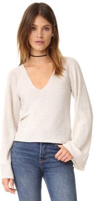 Free People Starman Pullover Sweater $108 thestylecure.com