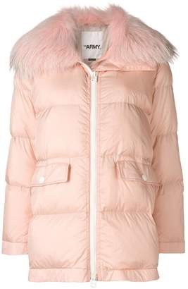 Yves Salomon Army oversized down jacket